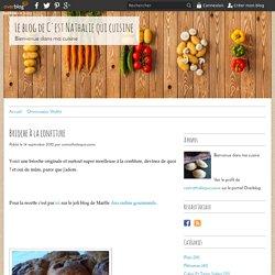 Brioche à la confiture - Le blog de C'est Nathalie qui cuisine