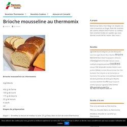 Brioche mousseline au thermomix