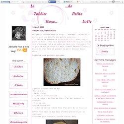 Brioche aux petits suisses - Le tablier rose de Petite Lolie...