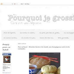 Recettes pearltrees for Pourquoi je grossis