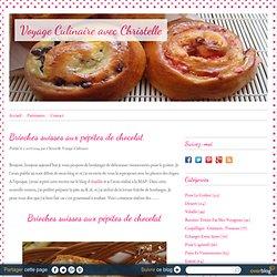 Brioche suisse aux pépites de chocolat - Voyage-Culinaire avec Christelle