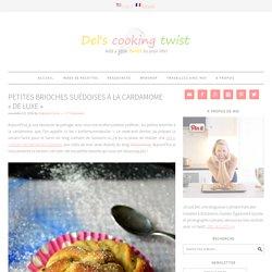 Petites brioches suédoises à la cardamome «de luxe»