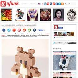 Des briques LEGO comestibles en chocolat