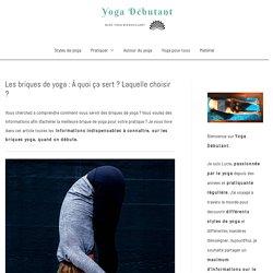 Les briques de yoga : À quoi ça sert ? Laquelle choisir ? - Yoga Débutant