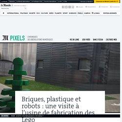 Briques, plastique et robots : une visite à l'usine de fabrication des Lego