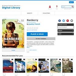 Brisbane Catholic Education Digital Library - Nanberry