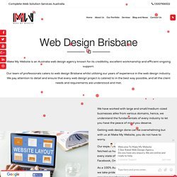 Web Designer Brisbane -Make My Website