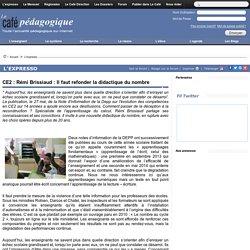 CE2 : Rémi Brissiaud : Il faut refonder la didactique du nombre