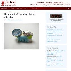 Bristlebot: A tiny directional vibrobot