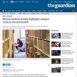 Bristol student deaths highlight campus crisis in mental health