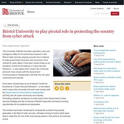 News from the University | Cyber security status