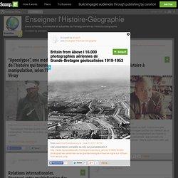 16.000 photographies aériennes de Grande-Bretagne géolocalisées 1919-1953