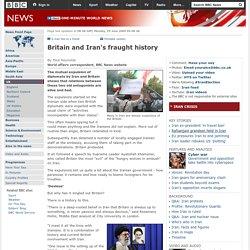 Britain and Iran's fraught history