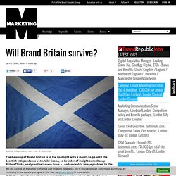 Will Brand Britain survive?