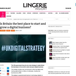 UK Britain - The Best Place To Start And Grow Digital Business