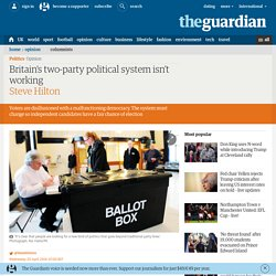 Britain's two-party political system isn't working