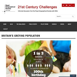 Britain's greying population
