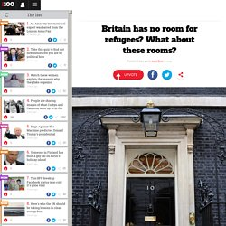 Britain has no room for refugees? What about these rooms?
