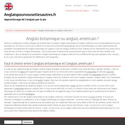 """Anglaispourvousetlesautres.fr <div class=""""slogan"""">Apprentissage de l'anglais par le jeu</span>"""