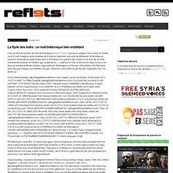 La Syrie des leaks : un mail britannique bien embêtant