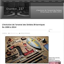 L'évolution de l'arsenal des Soldats Britanniques De 1066 à 2014 - Chambre237