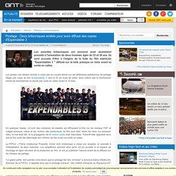 Piratage : Deux britanniques arrétés pour avoir diffusé des copies d'Expendable 3