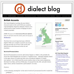 British Accents and Dialects