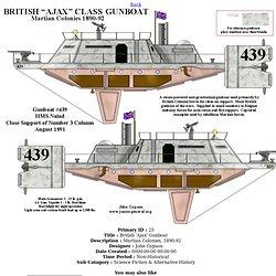 British 'Ajax' Gunboat