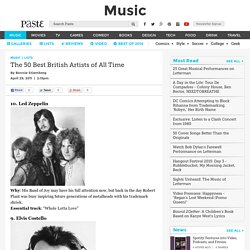 The 50 Best British Artists of All Time