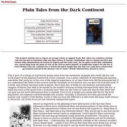 British Empire: Library: Non-Fiction: Plain Tales from the Dark Continent