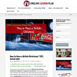 English Lesson Plan with videos for ESL EFL teachers