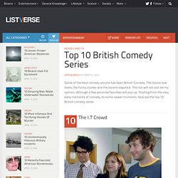Top 10 British Comedy Series