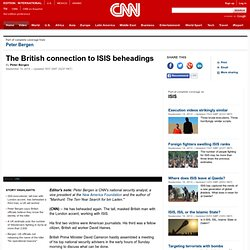 ISIS: British connection to the beheadings (Opinion)