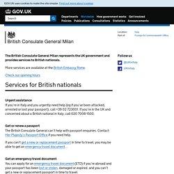 British Consulate General Milan