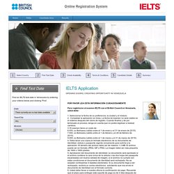 British Council IELTS Online Application