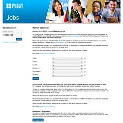 British Council Jobs