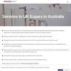 British Expats Australia - UK Expats in Australia, UK Expat Tax Advice