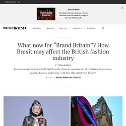 How Brexit may affect the British fashion industry