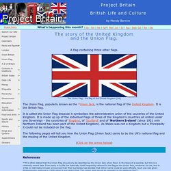 British Flag - The Union Jack (Union Flag) UK