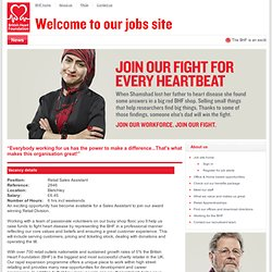 British Heart Foundation - Vacancies