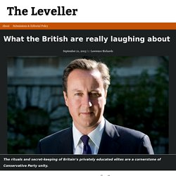 What the British are really laughing about - The Leveller