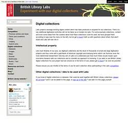 British Library Labs - BL Collections