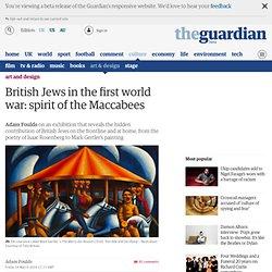 Spirit of the Maccabees: British Jews in the first world war