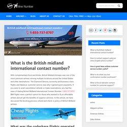 British Midland International Contact Number