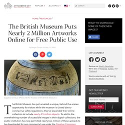 The British Museum Makes 1.9 Million Images Available for Public Use