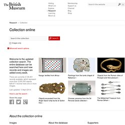 Search the British Museum collection database online