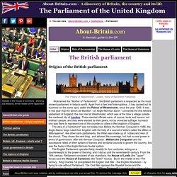 The British parliament explained