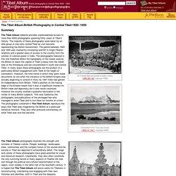 The Tibet Album: British Photography in Central Tibet 1920-1950