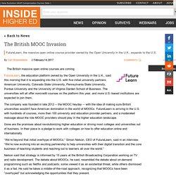 British MOOC provider FutureLearn expands to the U.S.