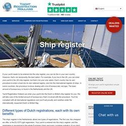 dutch ship registry